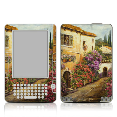 Kindle 2 Skin - Via Del Fiori