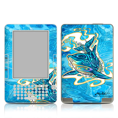 Kindle 2 Skin - Dolphin Daydream