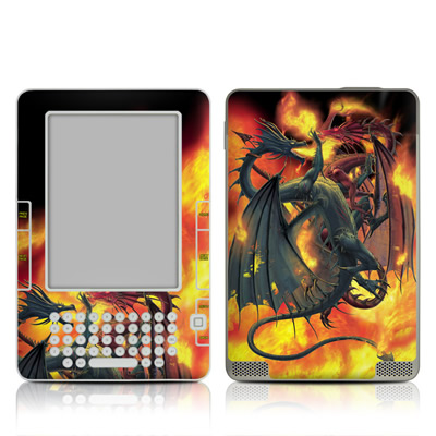 Kindle 2 Skin - Dragon Wars