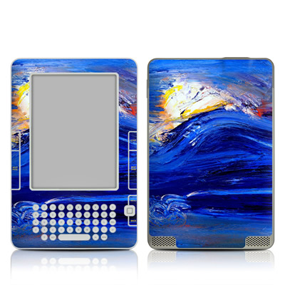 Kindle 2 Skin - Feeling Blue