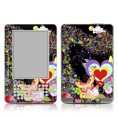 Kindle 2 Skin - Flower Cloud