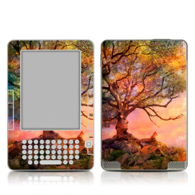 Kindle 2 Skin - Fox Sunset