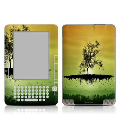 Kindle 2 Skin - Flying Tree Amber