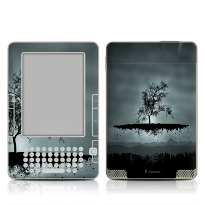 Kindle 2 Skin - Flying Tree Black