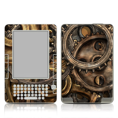 Kindle 2 Skin - Gears