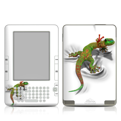 Kindle 2 Skin - Gecko