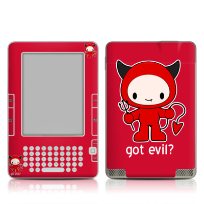 Kindle 2 Skin - Got Evil