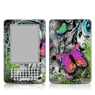 Kindle 2 Skin - Goth Forest