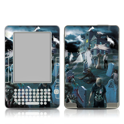 Kindle 2 Skin - Graveyard