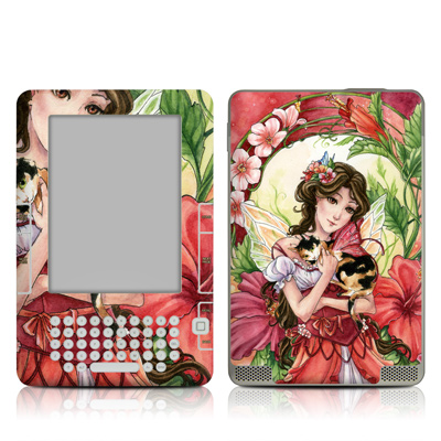 Kindle 2 Skin - Hibiscus Fairy