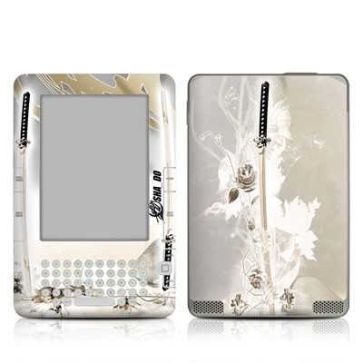 Kindle 2 Skin - Katana Gold
