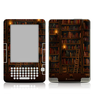 Kindle 2 Skin - Library