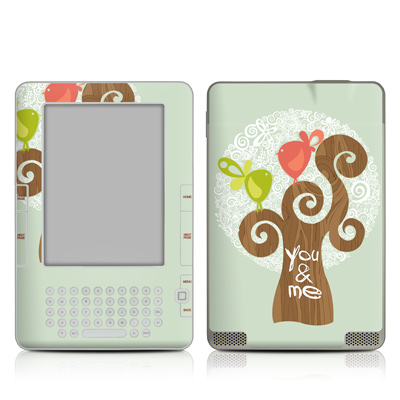 Kindle 2 Skin - Two Little Birds