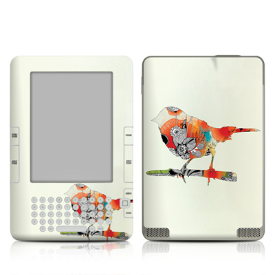 Kindle 2 Skin - Little Bird