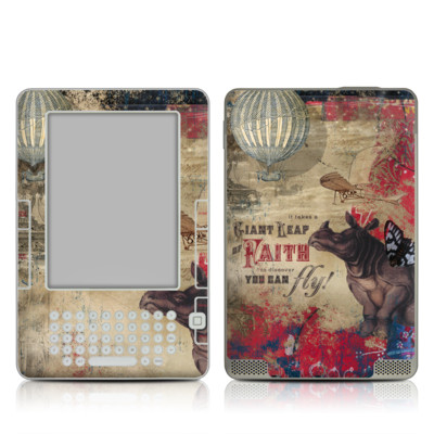 Kindle 2 Skin - Leap Of Faith
