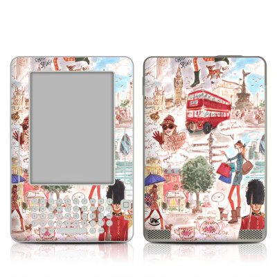 Kindle 2 Skin - London