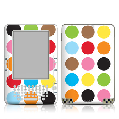 Kindle 2 Skin - Multidot