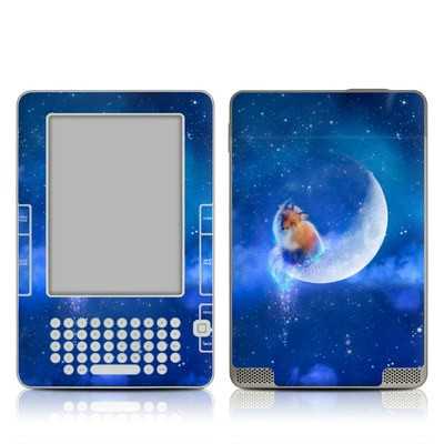 Kindle 2 Skin - Moon Fox