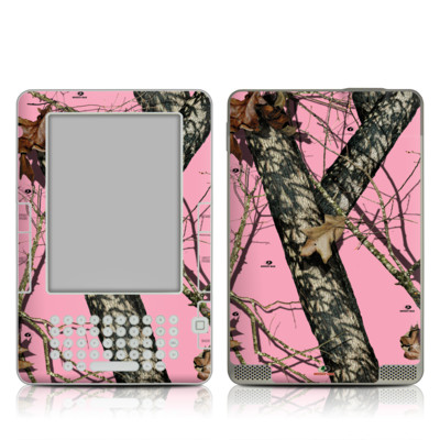 Kindle 2 Skin - Break-Up Pink