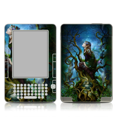 Kindle 2 Skin - Nightshade Fairy