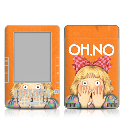 Kindle 2 Skin - Oh No