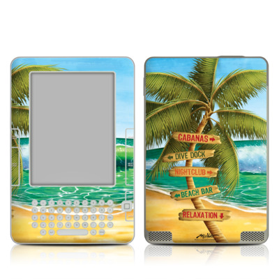 Kindle 2 Skin - Palm Signs