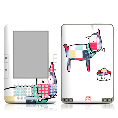 Kindle 2 Skin - Patch Dog