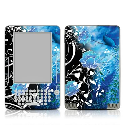 Kindle 2 Skin - Peacock Sky