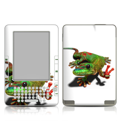 Kindle 2 Skin - Peace Gecko