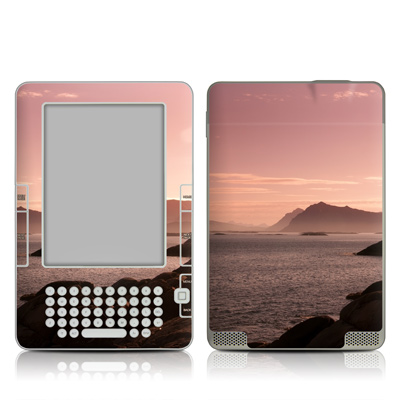 Kindle 2 Skin - Pink Sea