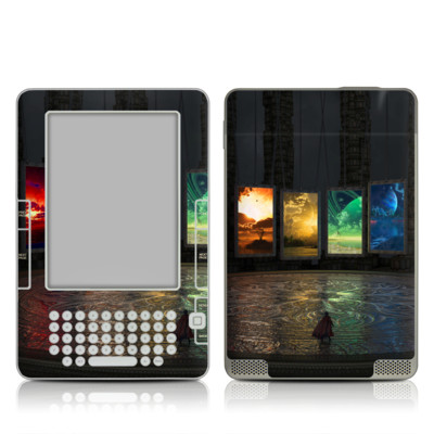 Kindle 2 Skin - Portals