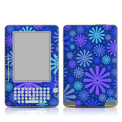 Kindle 2 Skin - Indigo Punch