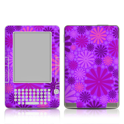 Kindle 2 Skin - Purple Punch