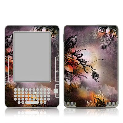 Kindle 2 Skin - Purple Rain