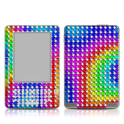 Kindle 2 Skin - Rainbow Candy