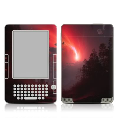 Kindle 2 Skin - Red Harbinger