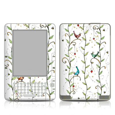 Kindle 2 Skin - Royal Birds