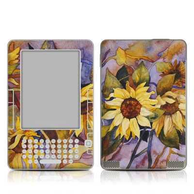 Kindle 2 Skin - Sunflower