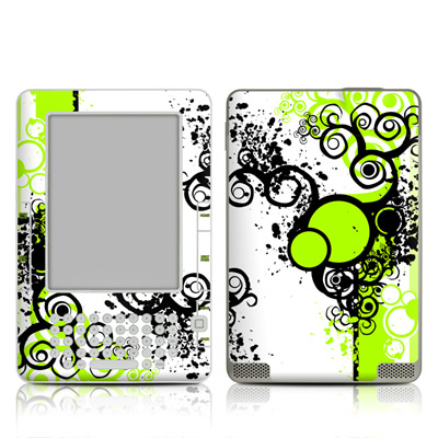 Kindle 2 Skin - Simply Green