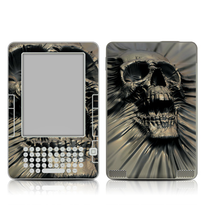 Kindle 2 Skin - Skull Wrap