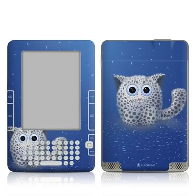 Kindle 2 Skin - Snow Leopard