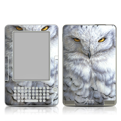 Kindle 2 Skin - Snowy Owl