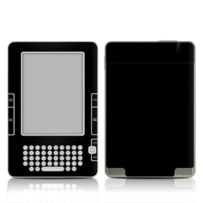 Kindle 2 Skin - Solid State Black