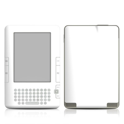 Kindle 2 Skin - Solid State White
