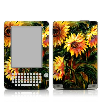 Kindle 2 Skin - Sunflower Sunshine