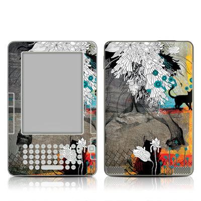 Kindle 2 Skin - Stay Awhile