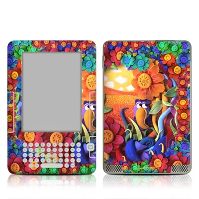Kindle 2 Skin - Summerbird