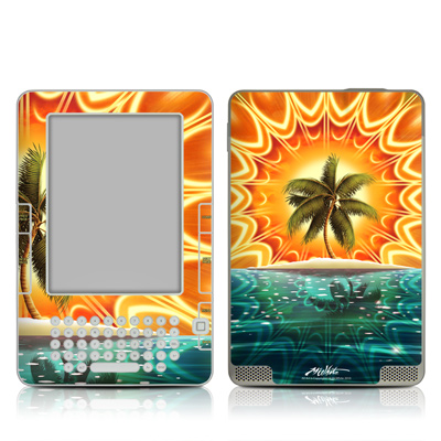 Kindle 2 Skin - Sundala Tropic