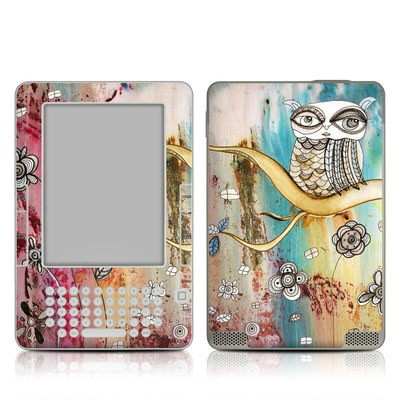 Kindle 2 Skin - Surreal Owl