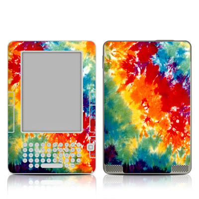 Kindle 2 Skin - Tie Dyed